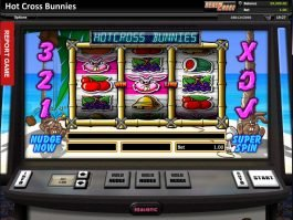 Free slot machine Hot Cross Bunnies for fun