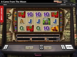 Play casino game It Came from the Moon