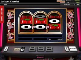 Online slot machine Jackpot Cherries for free