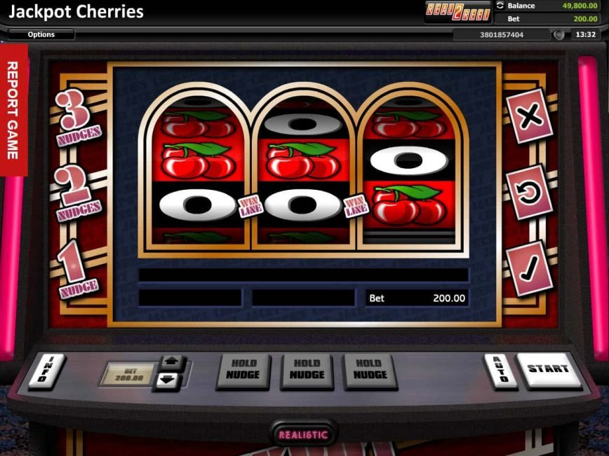 Online slot machine Jackpot Cherries for free
