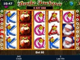 No registration slot machine Jingle Jackpot online