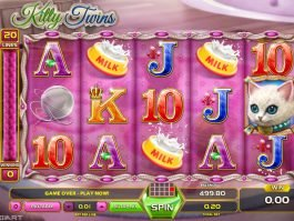 Picture from casino slot online Kitty Twins