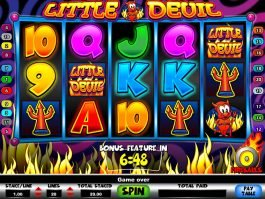 Picture from slot machine Little Devil for free