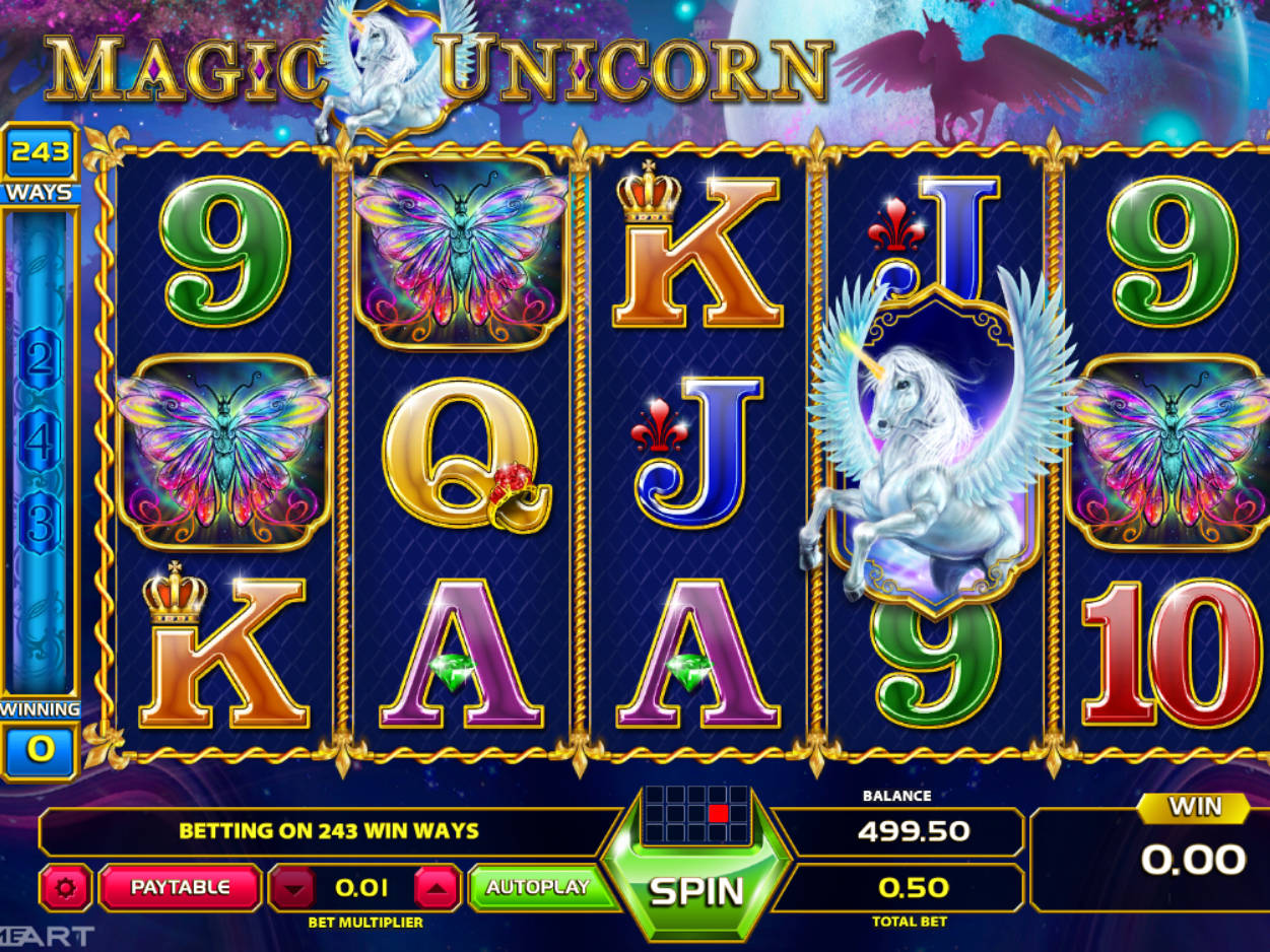 Play Free Slot Unicorn