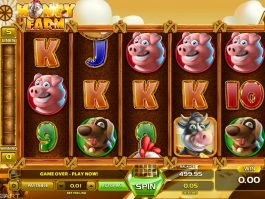 Casino slot machine Money Farm no deposit