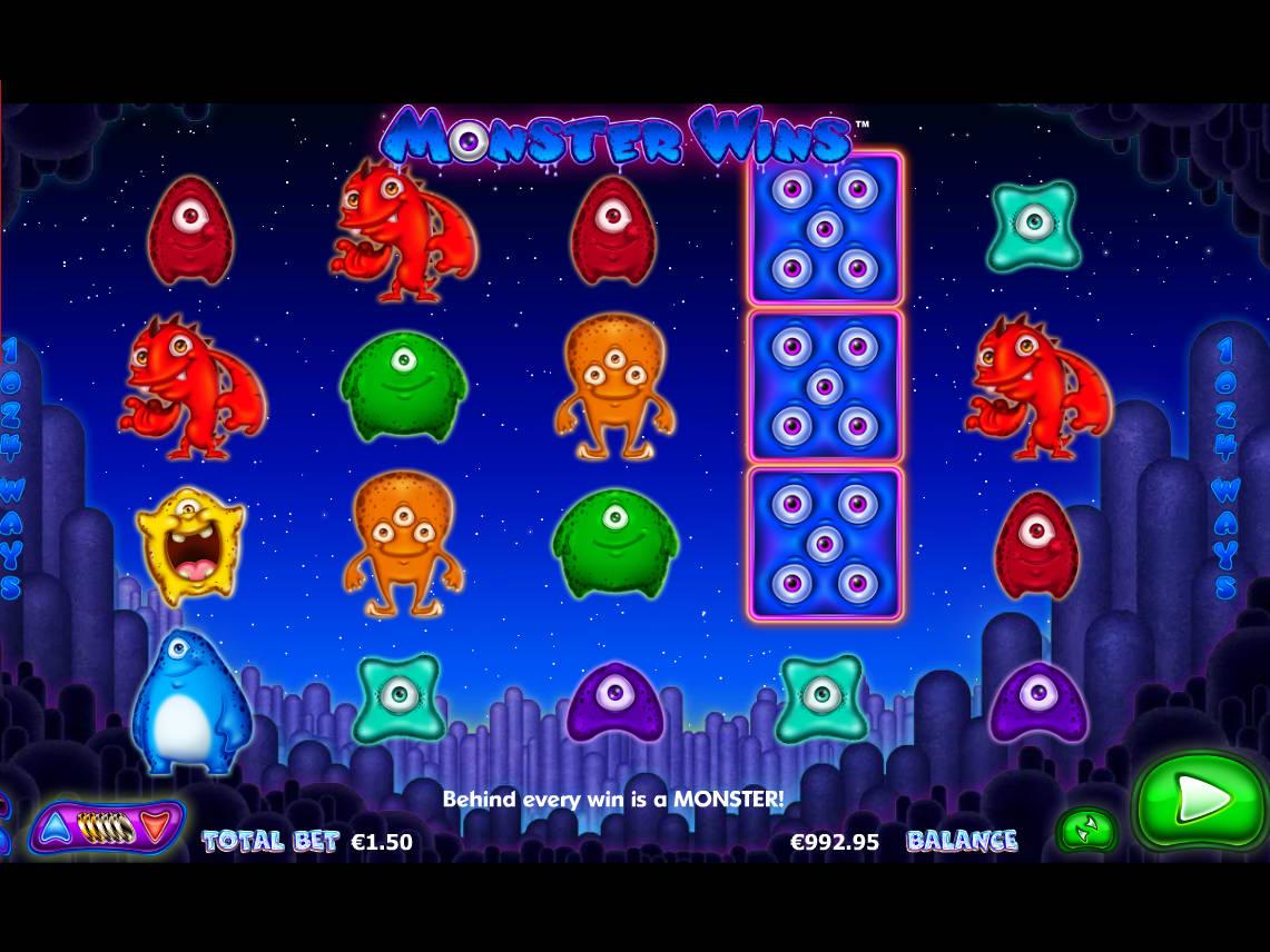 Monster Wins Slot Machine