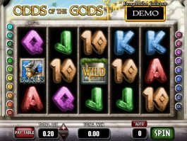 Play free slot machine online Odds of the Gods