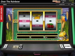 Picture of slot machine Over the Rainbow