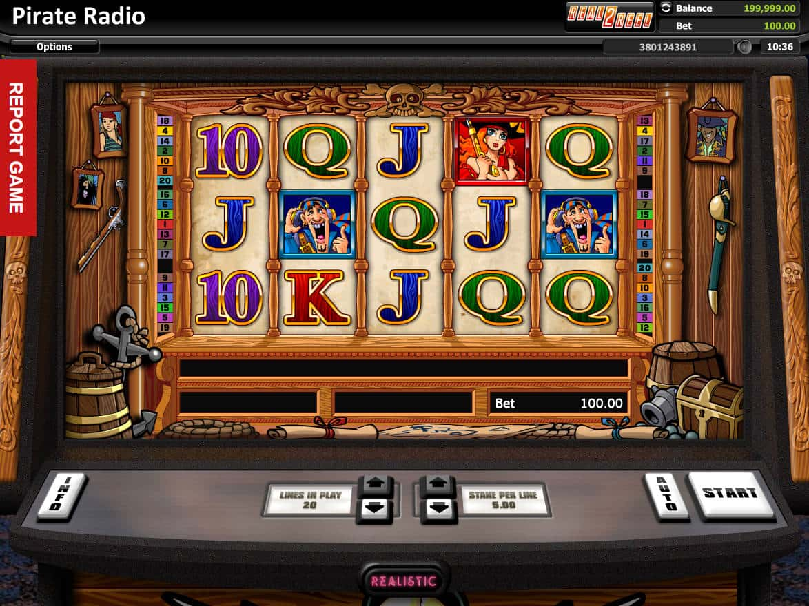 Radio uno slot machine