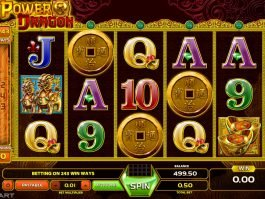 Play free slot machine Power Dragon