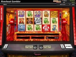 Spin Riverboat Gambler online free slot