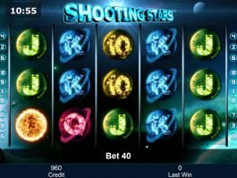 Picture of slot machine Shooting Stars online