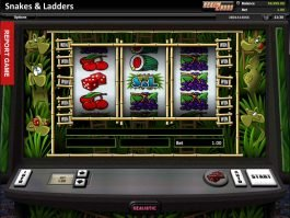 Play free casino slot Snakes and Ladders