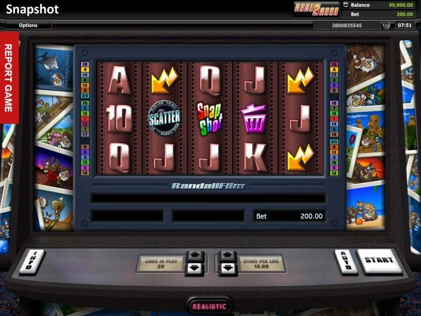 Snapshot online casino game for free