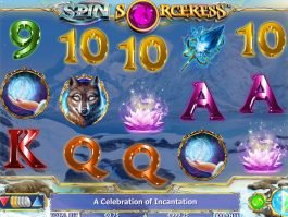 Spin free slot game Spin Sorceress