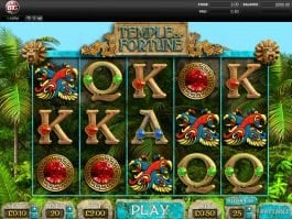 Picture of casino game Temple of Fortune online