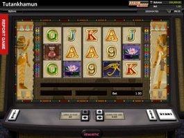 Picture of online casino slot Tutankhamun