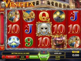 Spin slot machine Venetia online