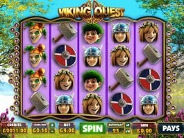 Free casino slot Viking Quest for fun
