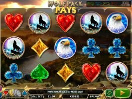 Spin casino slot machine Wolfpack Pays