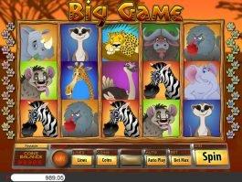 Free online slot no deposit Big Game