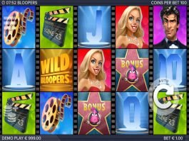 Picture from online slot Bloopers no deposit