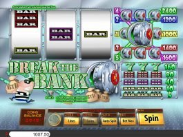 Free online slot game Break the Bank