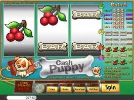 Free casino game Cash Puppy no deposit