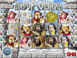 Picture of free slot Coins of Olympus