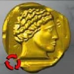 Symbol of free spins - Coins of Olympus slot