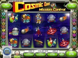 Cosmic Quest Mission Control free slot