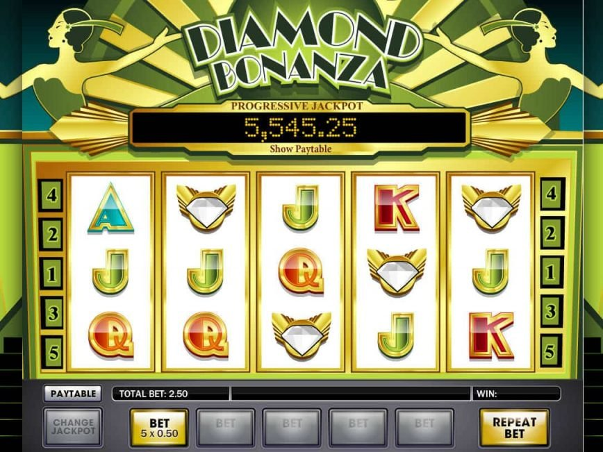 Diamond Bonanza Slot Machine Play Free Online Game Slotu Com