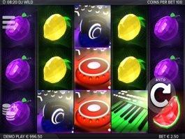 DJ Wild casino free onilne slot