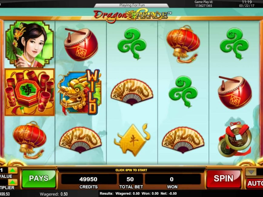 Dragon Parada online free slot