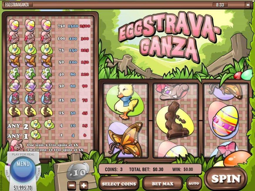 Eggstravaganza slot machine online