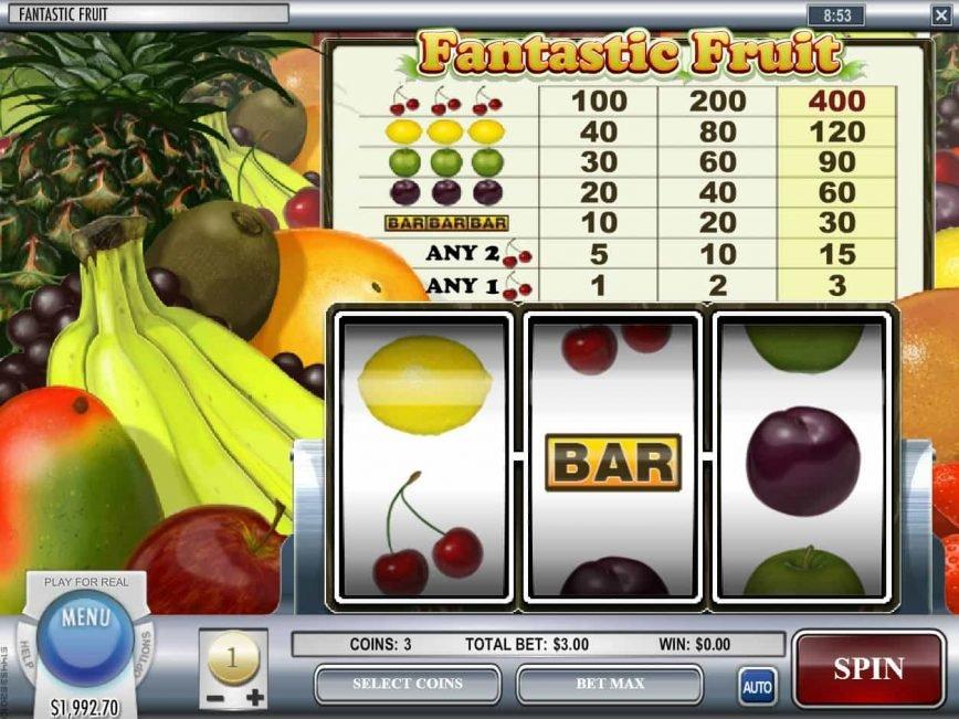 Play free slot machine Fantastic Fruit
