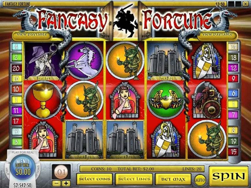 Play slot machine Fantasy Fortune online