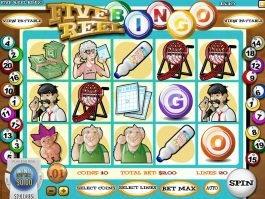 Online slot machine Five Reel Bingo
