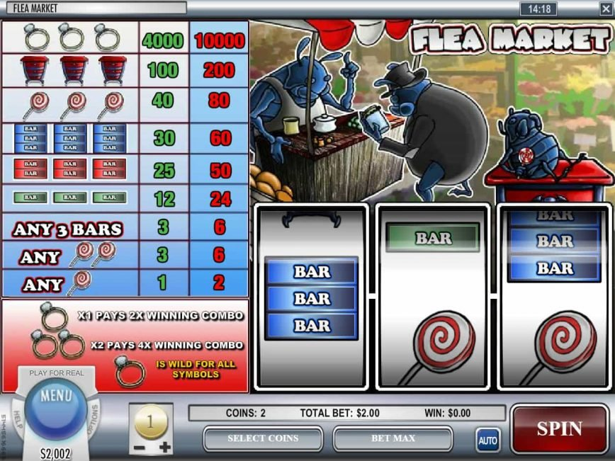 Online free slot Flea Market for fun