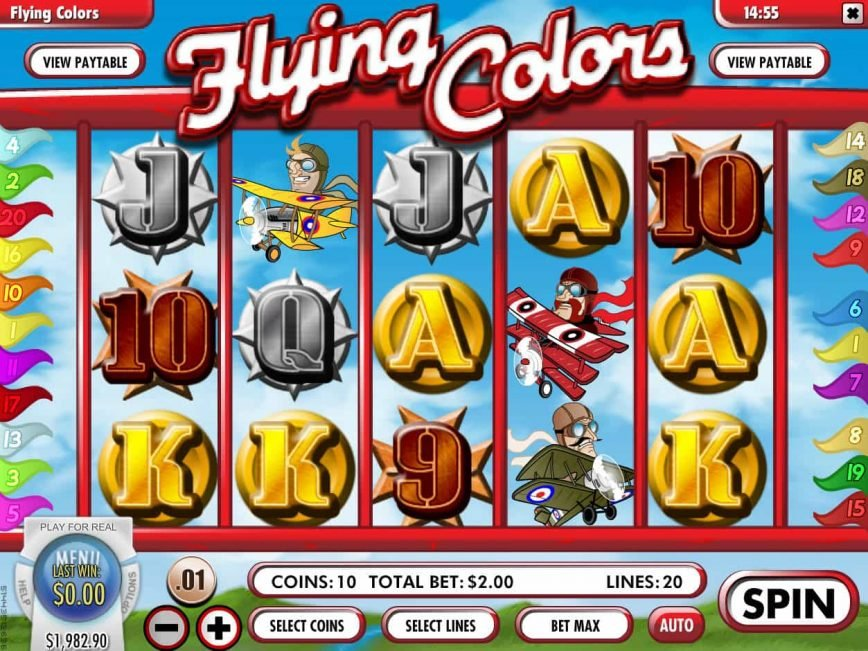 Online free game Flying Colors