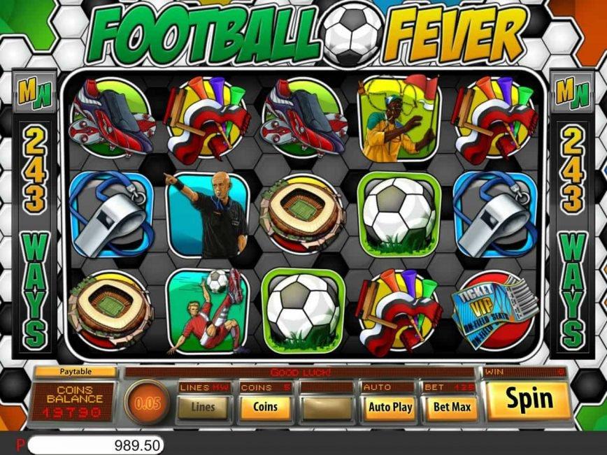 Free online slot Football Fever