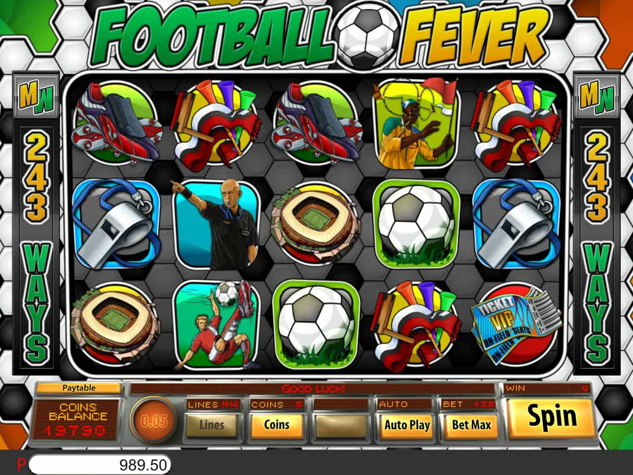Football Slot Machine Games