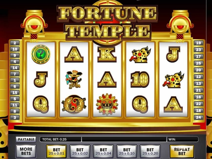 Free slot machine online Fortune Temple