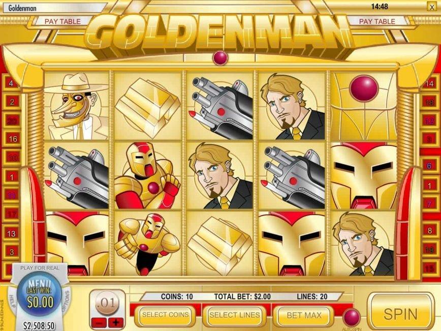 Play free slot machine Goldenman