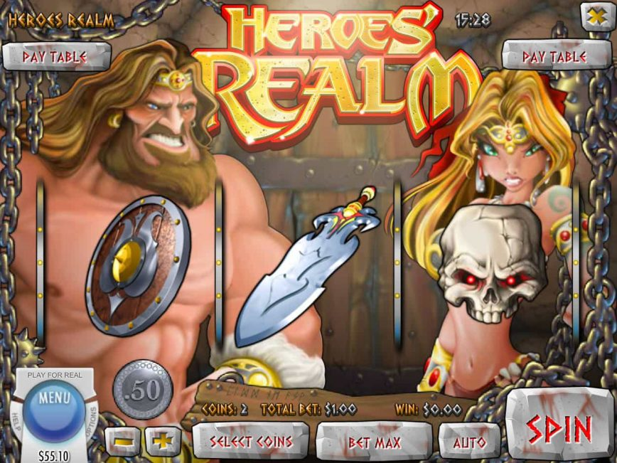 Spin casino free slot Heroes' Realm