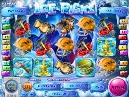 Spin slot machine Ice Picks online