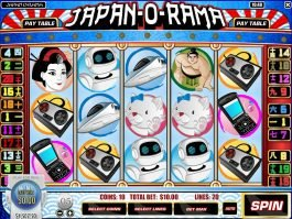 Picture of casino game Japan-O-Rama online