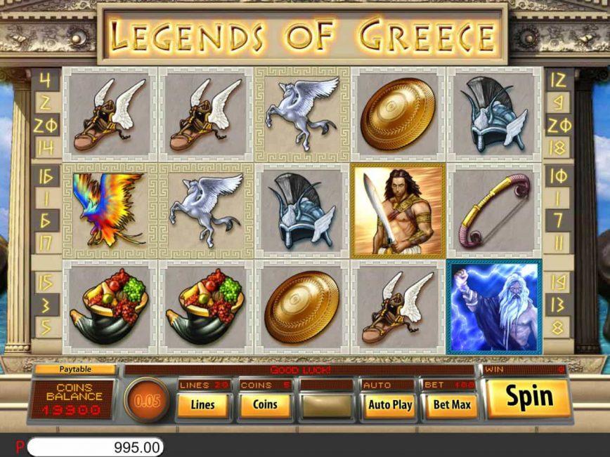 Spiele Legends Of Greece - Video Slots Online