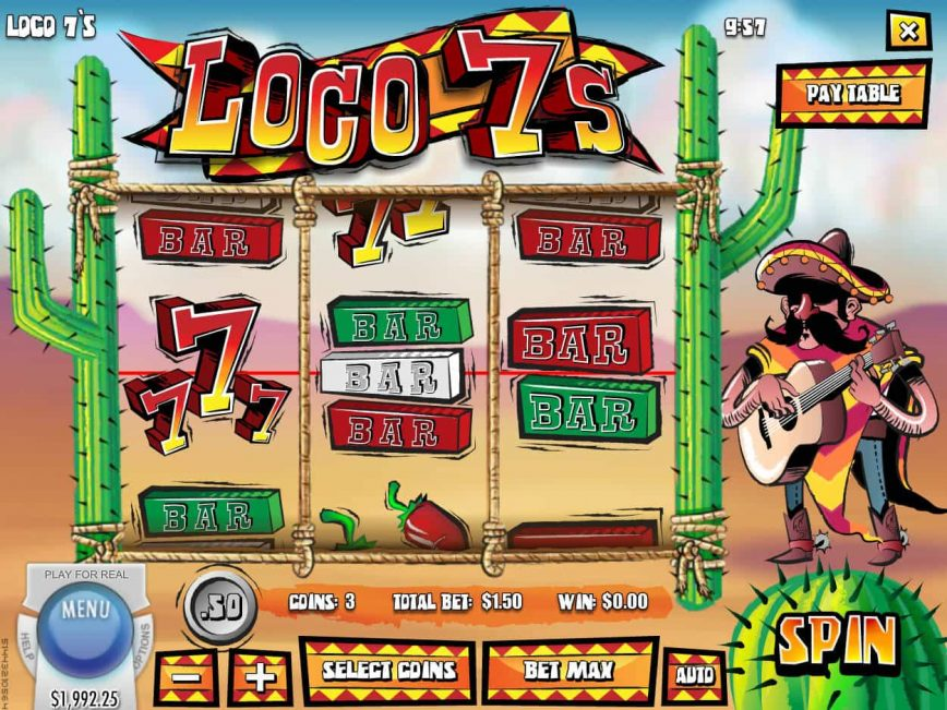 Play Loco 7s Slot Machine Free with No Download