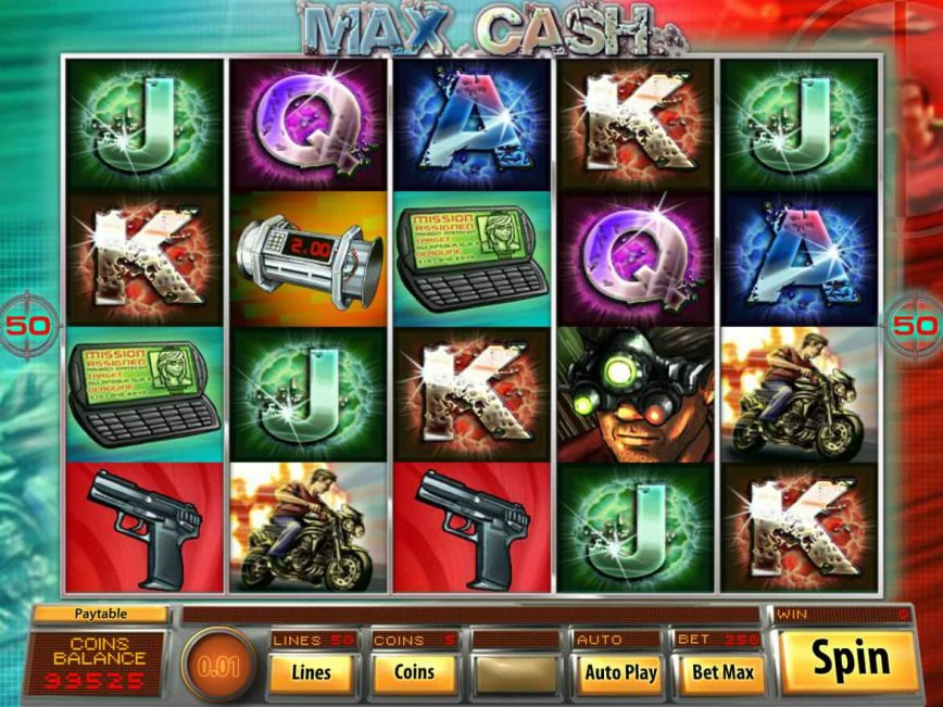 No download game Max Cash online